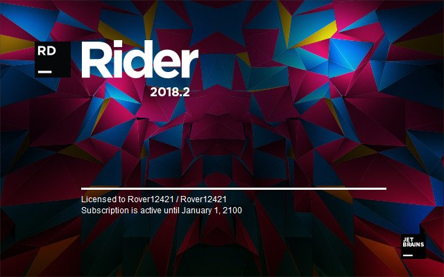 JetBrains Rider 2018.2 (x64)