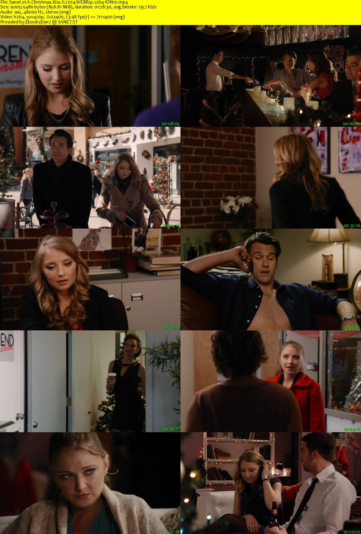 Christmas Kiss 2.Download A Christmas Kiss Ii 2014 Webrip X264 Ion10