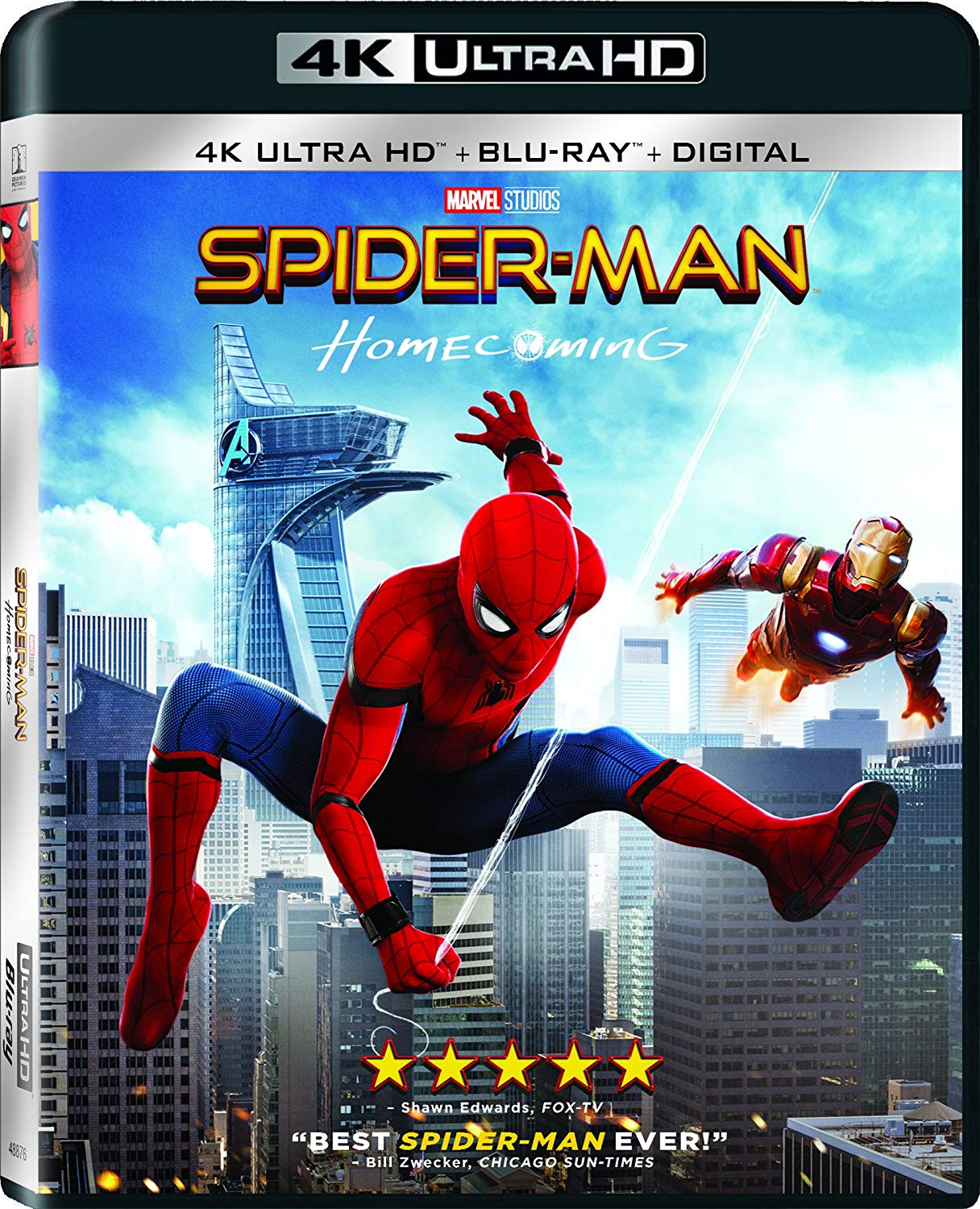 Download Spider-Man Homecoming 2017 2160p BluRay x265 HEVC