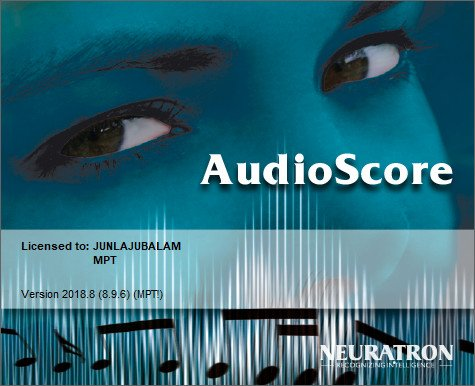 Neuratron AudioScore Ultimate 2018.8 v8.9.6
