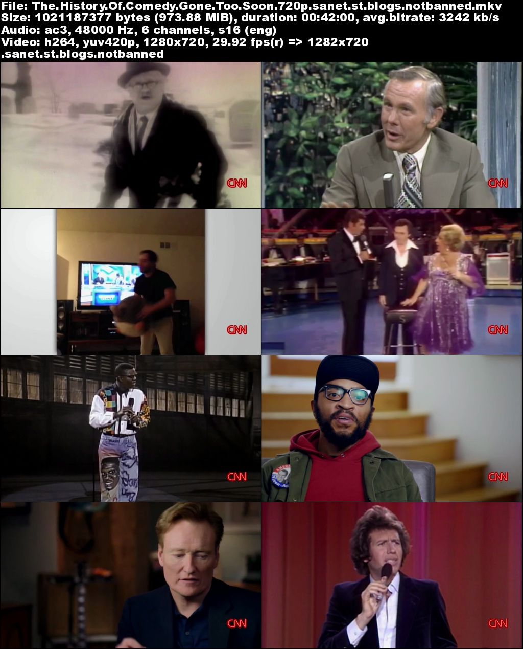 Download CNN - The History of Comedy Series 2: Gone Too Soon