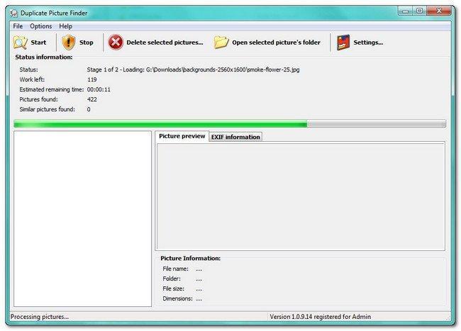Portable 3delite Duplicate Picture Finder 1.0.16.24