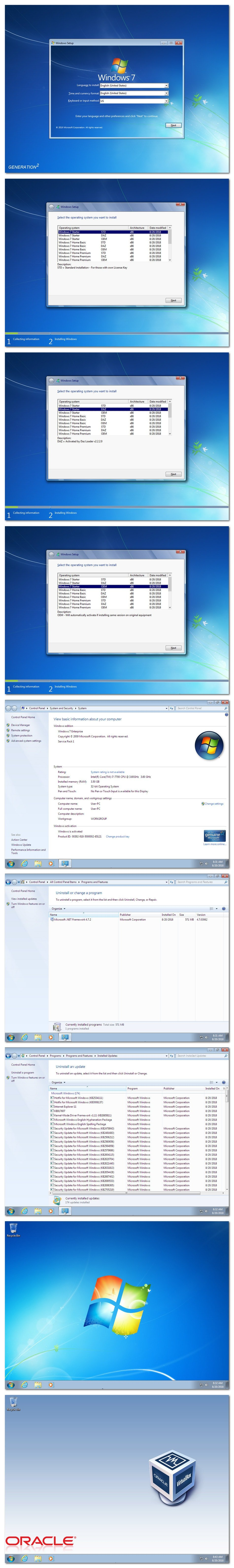 Windows 7 sp1 loader x86
