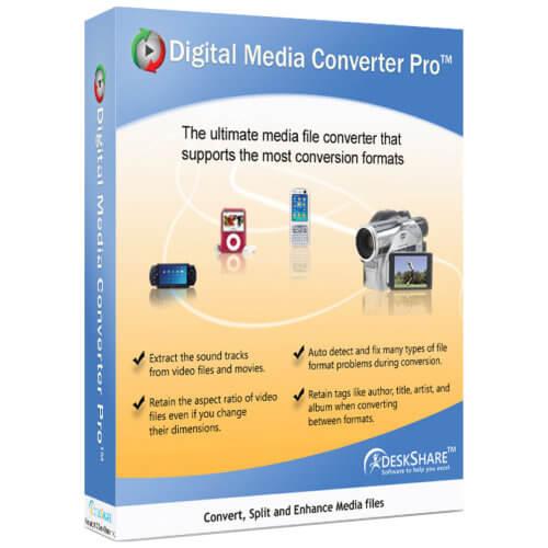 DeskShare Digital Media Converter Pro 4.14
