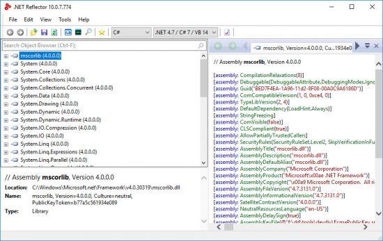 Red Gate .NET Reflector 10.0.7.774 VSPro