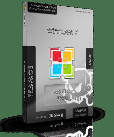 Windows 7 Sp1 Aio (x86x64) 11in1 En-us (usb3.0) August 2018