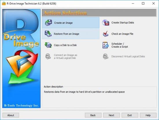R-Tools R-Drive Image 6.2 Build 6206 Multilingual BootCD