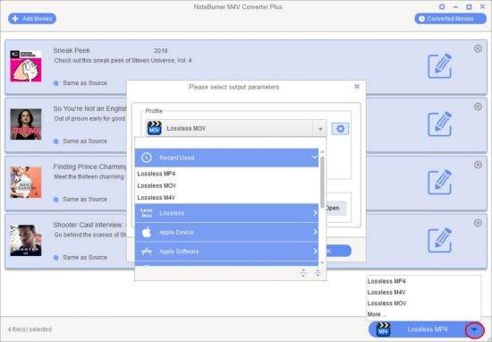 NoteBurner M4V Converter Plus 5.4.7 Multilingual + Portable