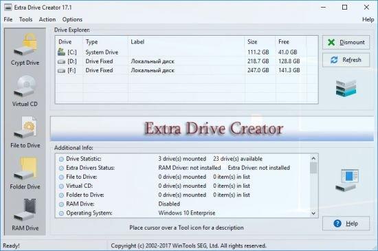 Extra Drive Creator 17.1 Pro