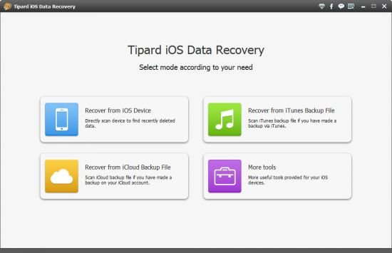 Tipard iOS Data Recovery 8.3.26 Multilingual