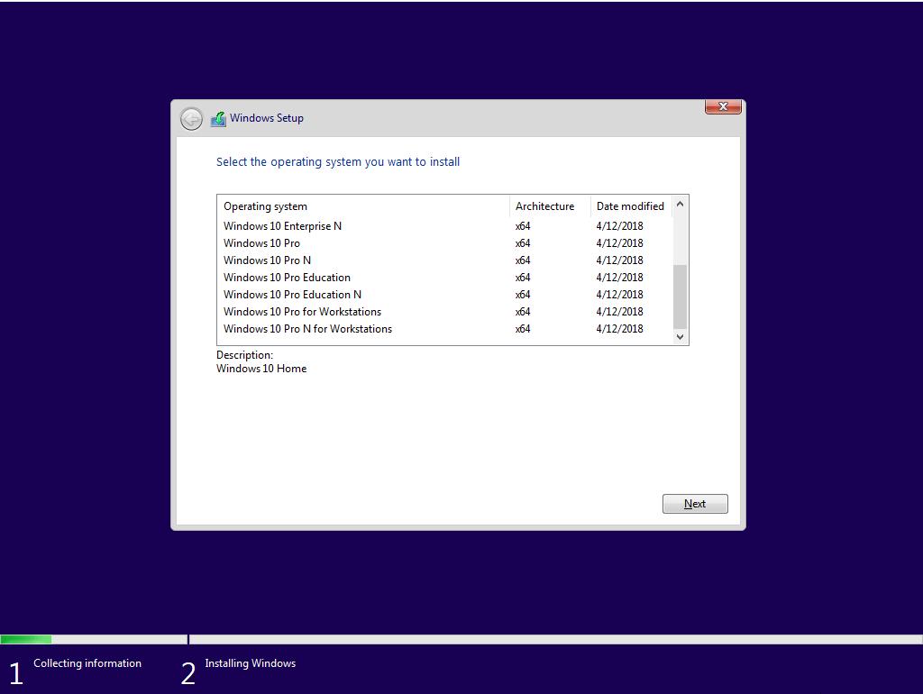 Windows  Pro Windows  V Build  X Preactivated