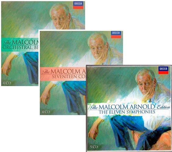 The Malcolm Arnold Edition – Decca Universal: Vols I-III (2006) FLAC
