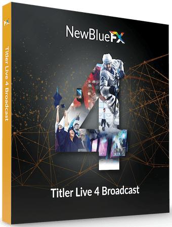 Newblue Titler Live 4 Broadcast 4.0 Build 180725