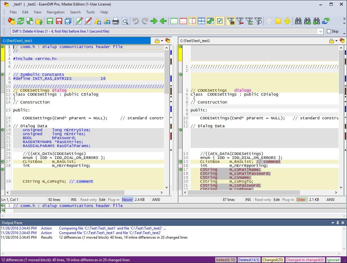 ExamDiff Pro Master Edition 11.0.1.2 [Ingles] [UL.IO] CZHjeVaczvD1Jz6kixMZGEQcE0qo3tEG