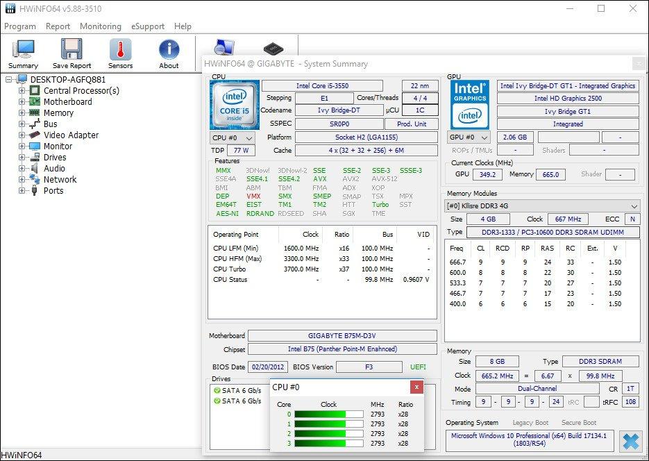 HWiNFO 6.22 Build 4060 + Portable [Ingles] [Tres Servidores] FNoWSoAsF6Q31H2v4m6UDgOlVtJ9z19e