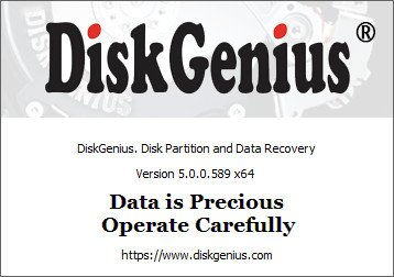 DiskGenius 5.0.0.589 Professional