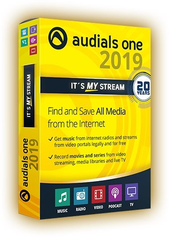 Audials One Platinum 2019.0.2600.0