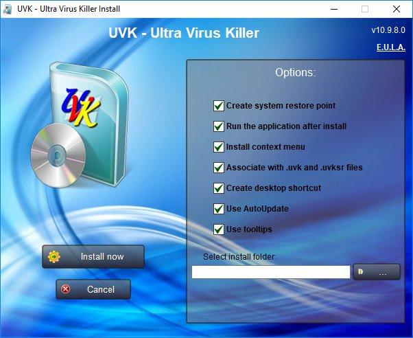 UVK Ultra Virus Killer 10.9.8.0
