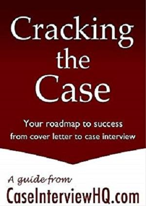cracking the case A step back question helps you further understand the overall context or objective of the case beyond the information that has been given upfront.