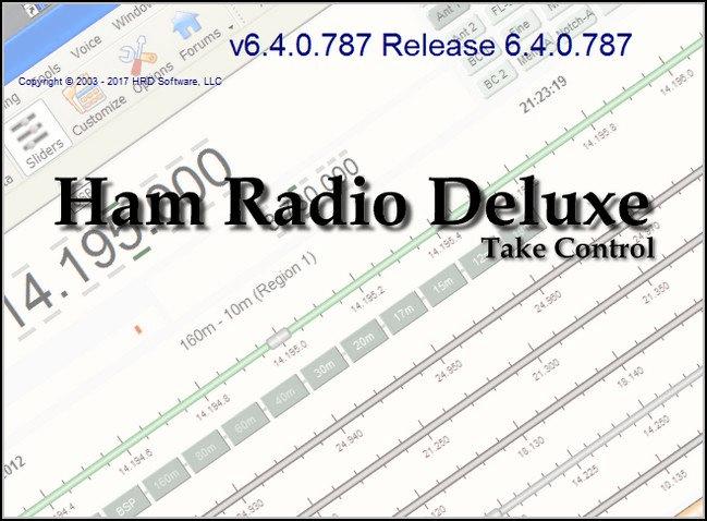 Ham Radio Deluxe 6.4 . 0.886