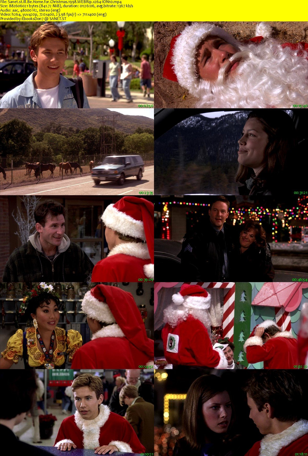 Ill Be Home For Christmas 1998.Download Ill Be Home For Christmas 1998 Webrip X264 Ion10