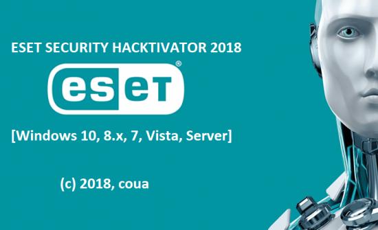 Eset Security Hacktivator 2018