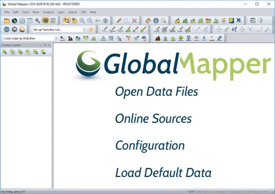 Global Mapper 20.1.0 Build 022519 (x64)