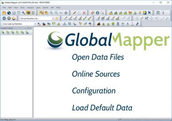 Global Mapper 20.0.0 Build 091818