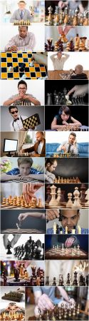 Chess player grandmaster chess party figure 25 HQ Jpeg