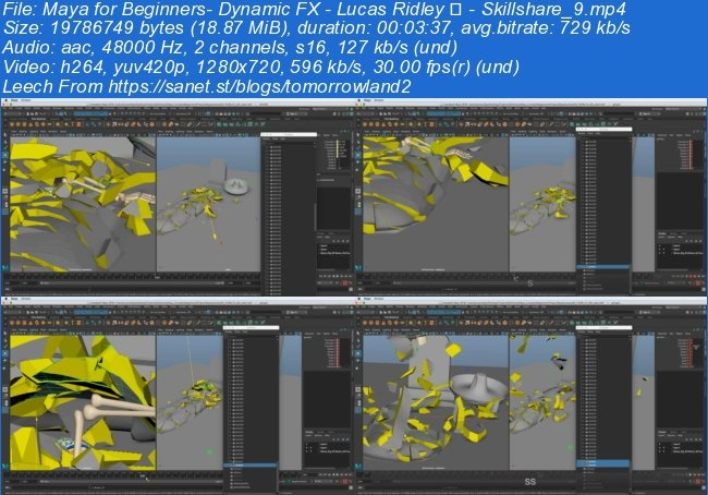 Maya for Beginners: Dynamic FX