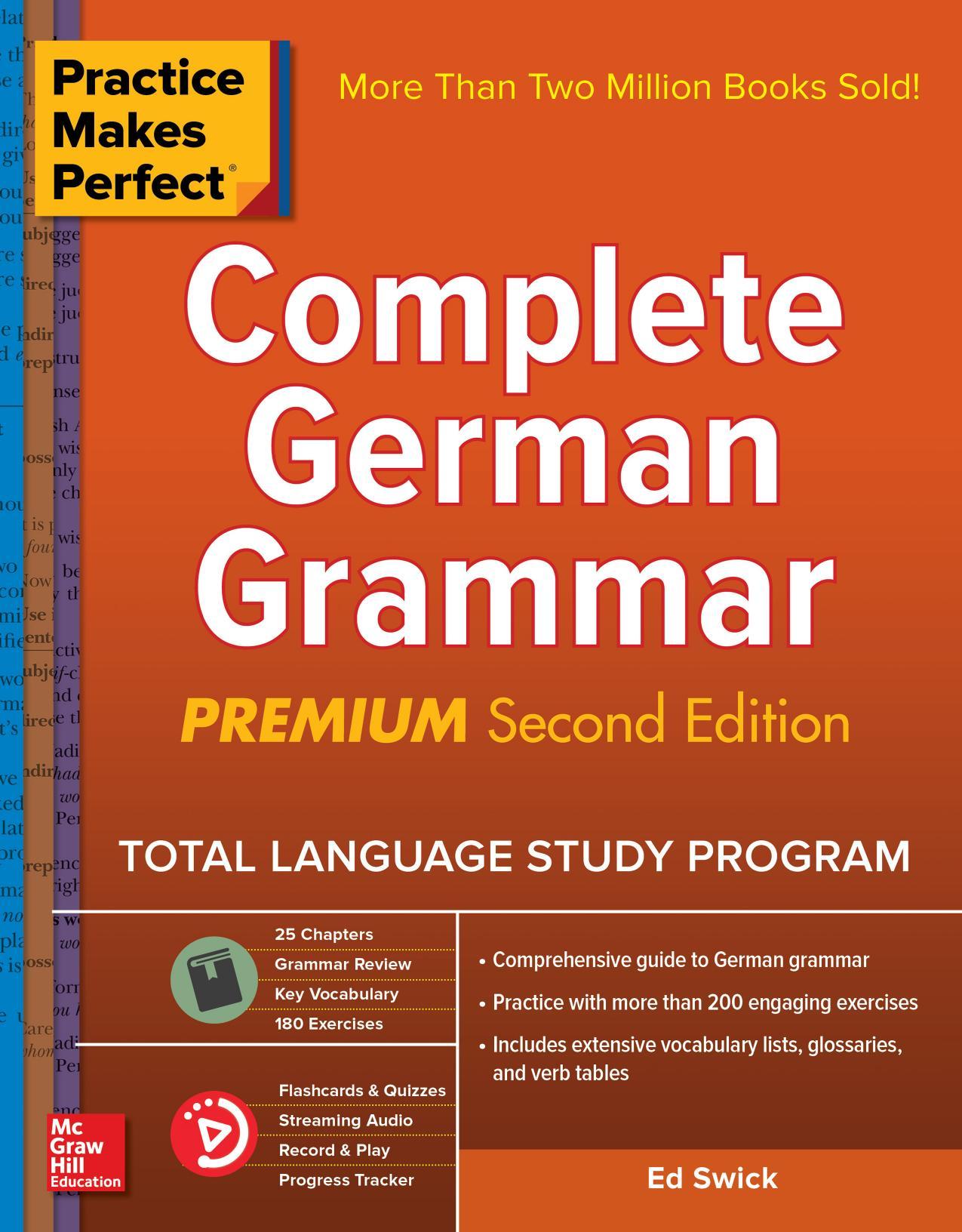 Practice Makes Perfect: Complete German Grammar, Premium 2nd Edition