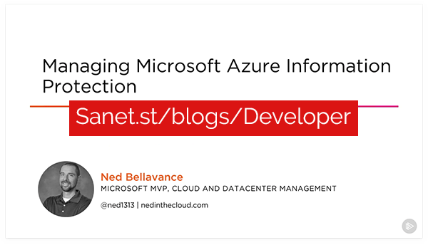 Managing Microsoft Azure Information Protection