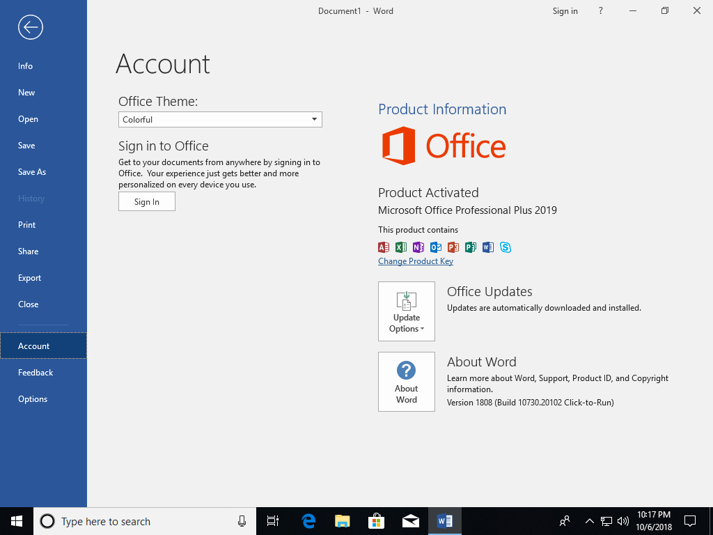 Microsoft - Download Office
