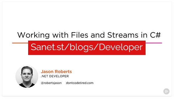 Working with Files and Streams in C#