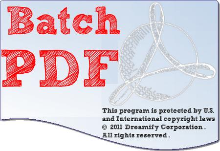 Batch PDF Pro 3.0.0