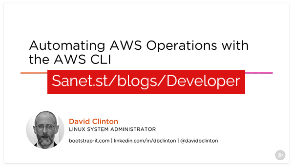 Automating AWS Operations with the AWS CLI