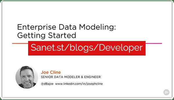 Enterprise Data Modeling: Getting Started