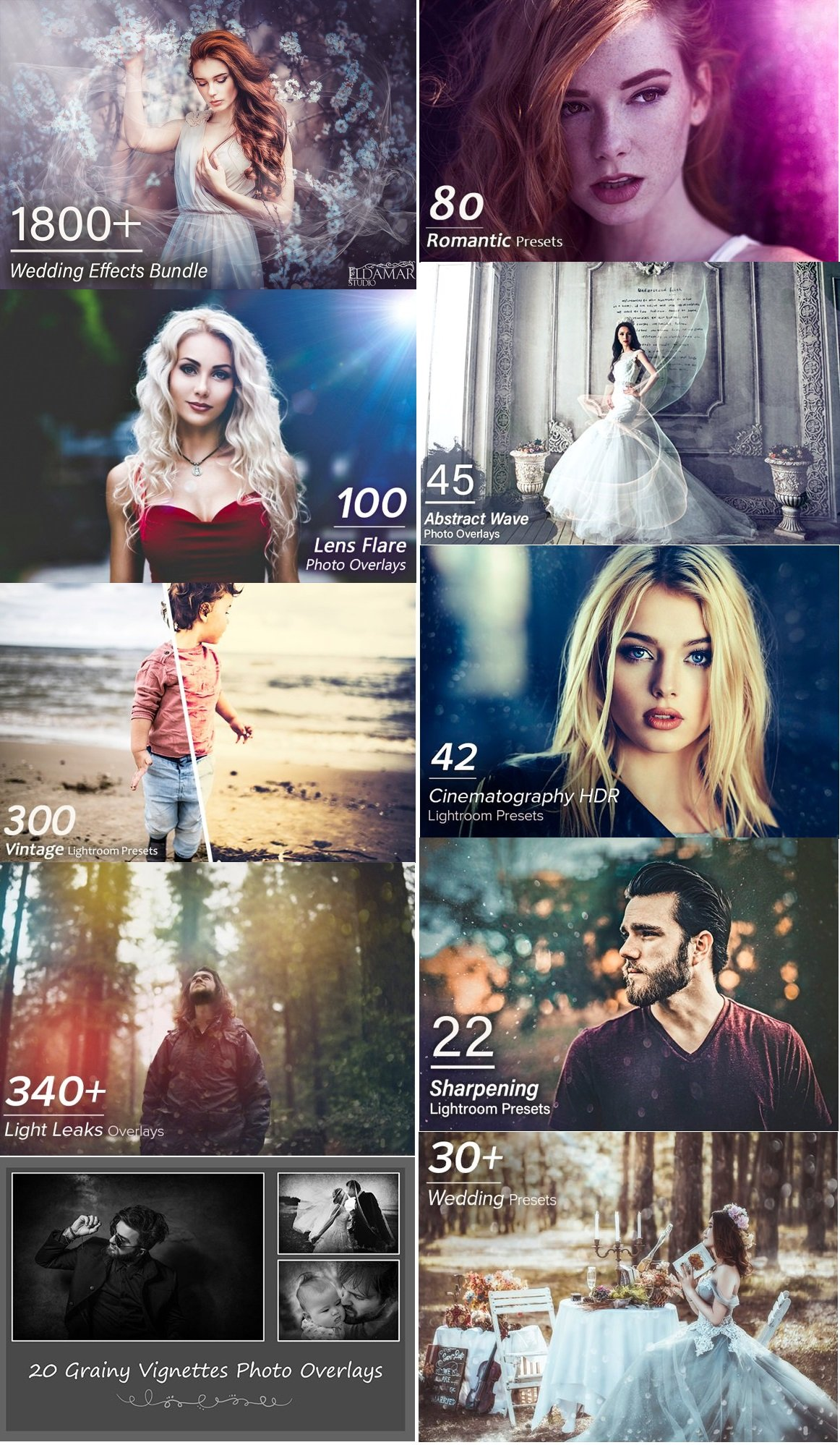 Download 1800+ Wedding Effects Bundle 3062575 - SoftArchive