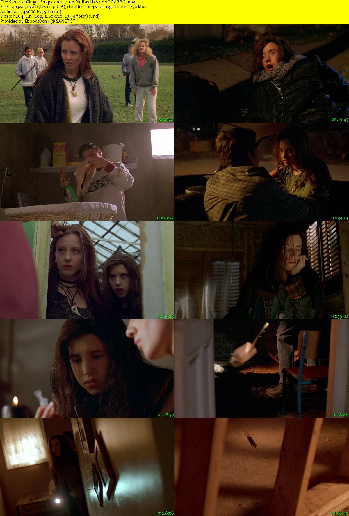 Ginger Snaps Posters