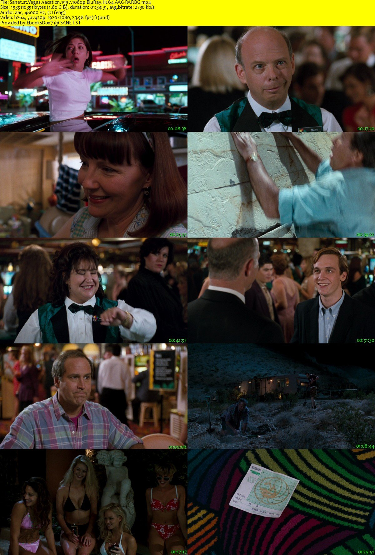 Movie Vegas Vacation 1997 720p Bluray X264 Mp4: Download Vegas Vacation 1997 1080p BluRay H264 AAC-RARBG