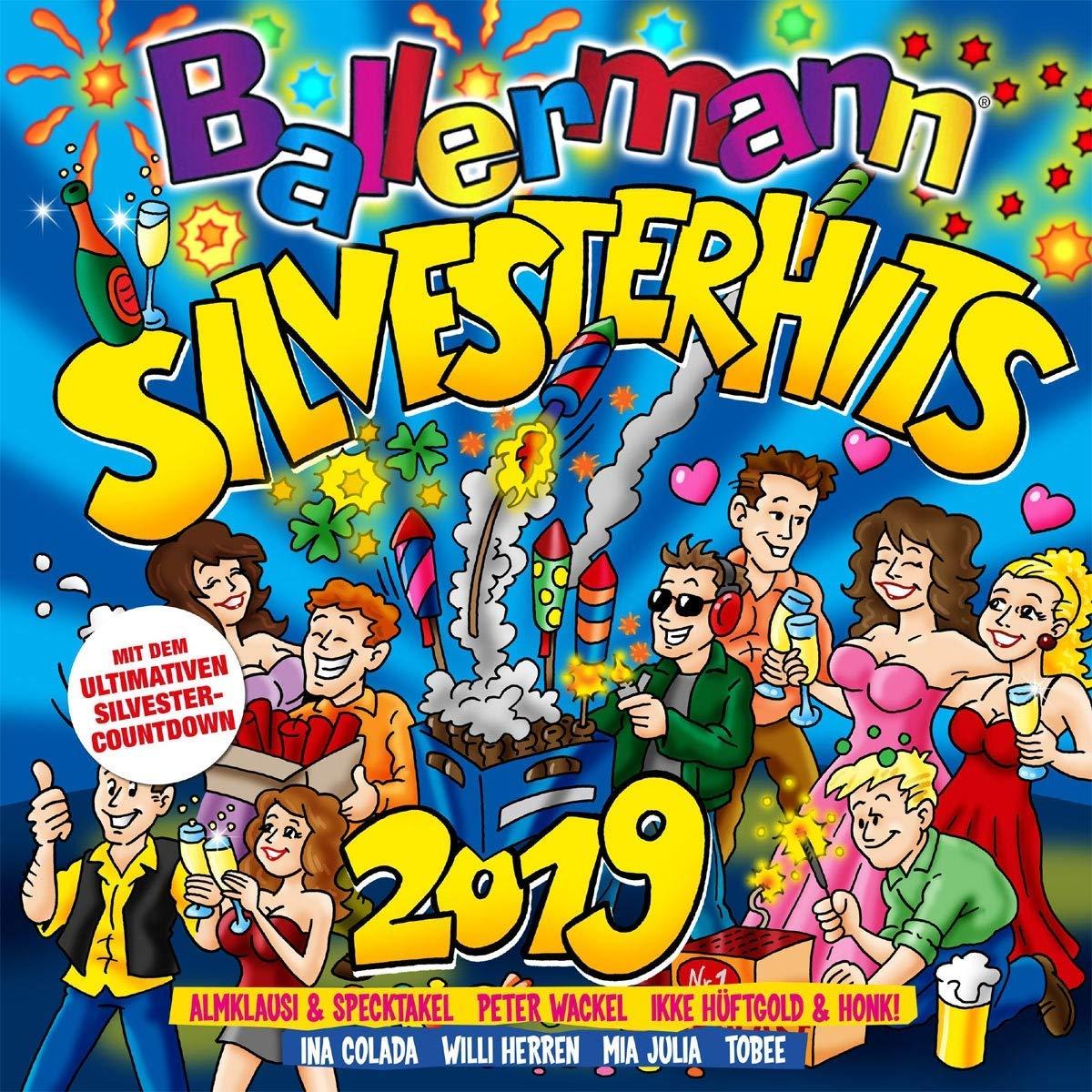 Ballermann Silvesterhits 2019 (2018) MP3
