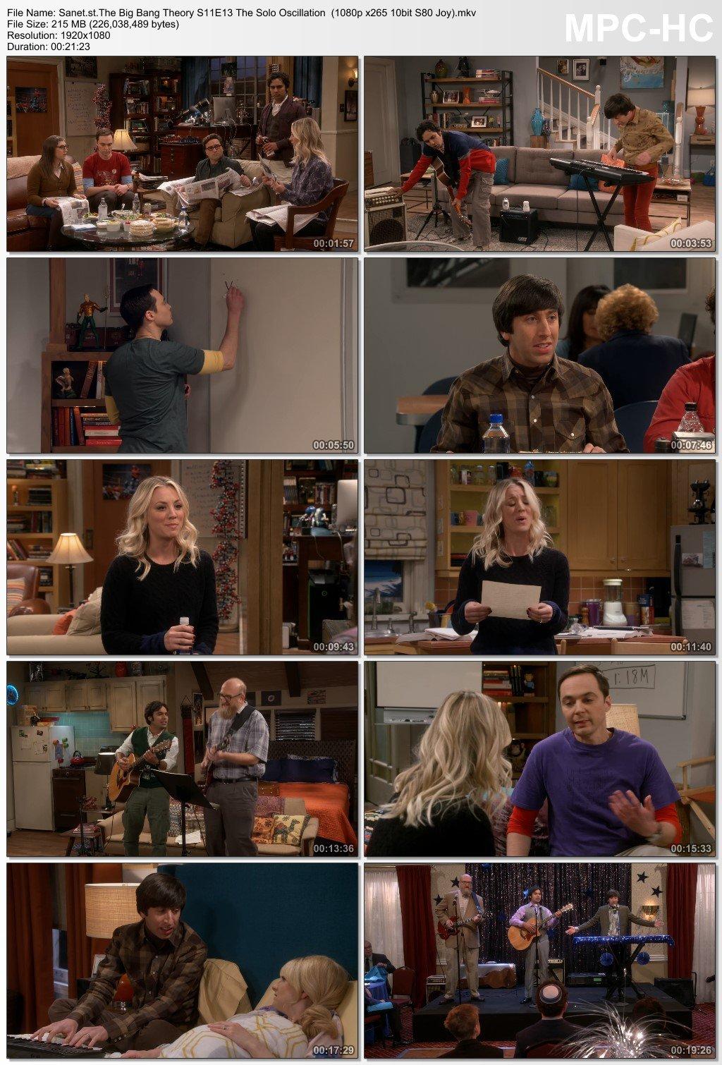 Video's van Big bang theory season 5 720p