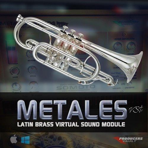 Producers Vault METALES VSTi v1.1 Latin Brass Virtual Sound Module WiN-iND