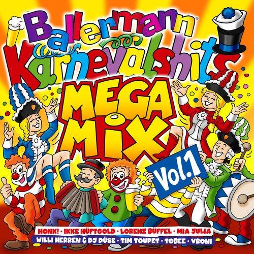 Ballermann Karneval Hits Megamix, Vol.1