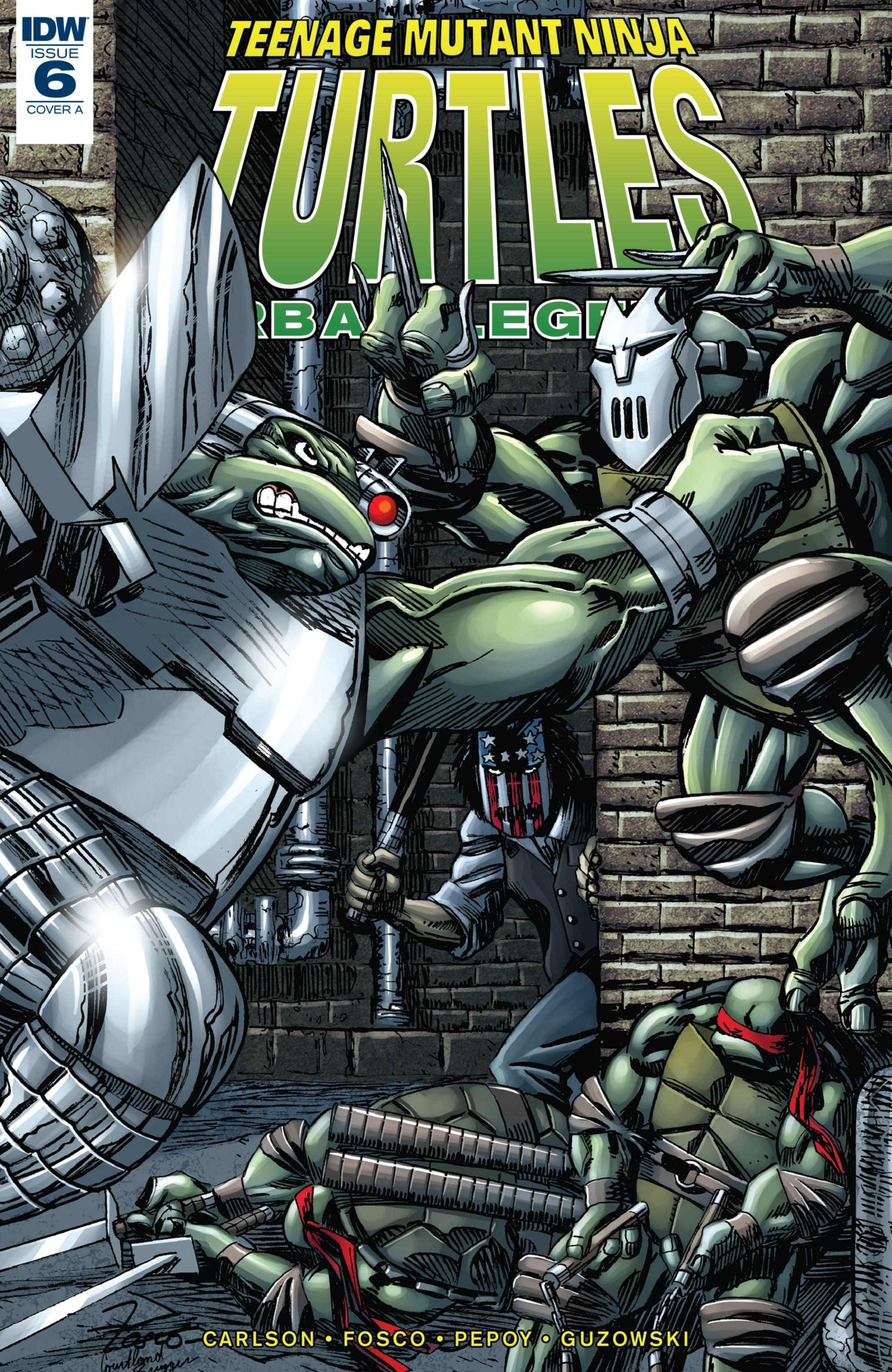 Download Teenage Mutant Ninja Turtles - Urban Legends 006