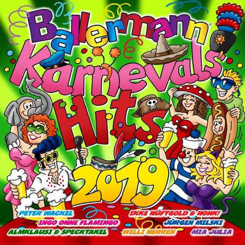 Ballermann Karnevals Hits 2019 (2018) Mp3