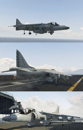 McDonnell Douglas AV 8B Harrier II 3D Model