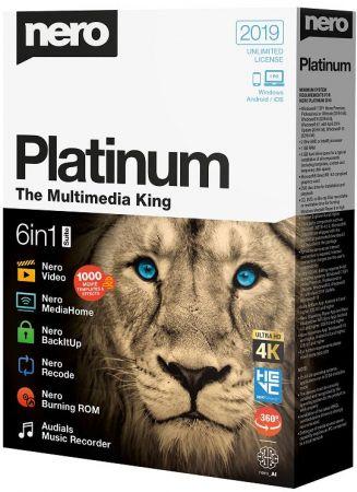 Nero Platinum 2019 Suite 20.0.05900 Multilingual