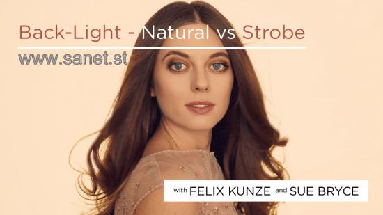 Backlight: Natural vs Strobe