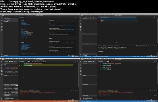 Developing with Visual Studio Code